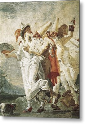 Tiepolo, Giovanni Domenico 1727-1804 Metal Print by Everett