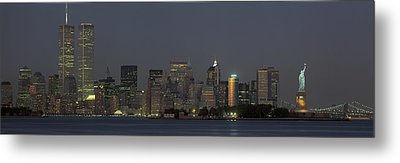 Usa, New York, Statue Of Liberty Metal Print by Panoramic Images