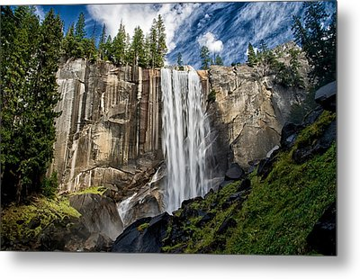Vernal Falls Metal Print by Cat Connor