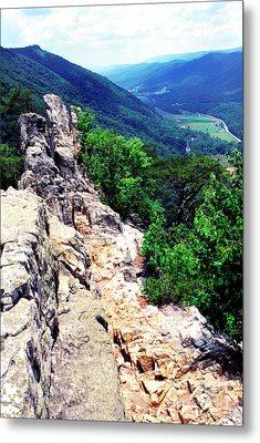 View From Atop Seneca Rocks Metal Print by Thomas R Fletcher