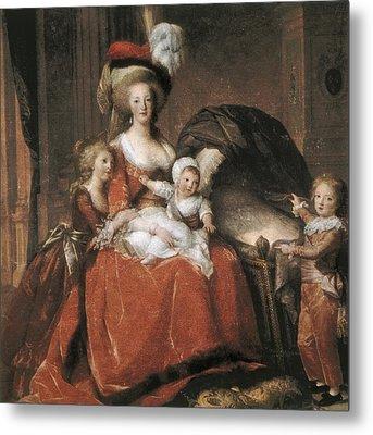 Vigee-lebrun, Elisabeth 1755-1842 Metal Print