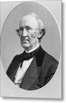 Wendell Phillips (1811-1884) Metal Print