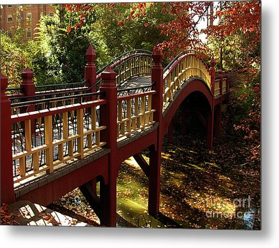 William And Mary College Metal Print by Jacqueline M Lewis