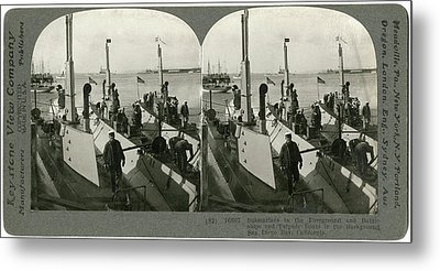 World War I U Metal Print