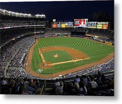 Yankee Stadium 3 Metal Print by Allen Beatty