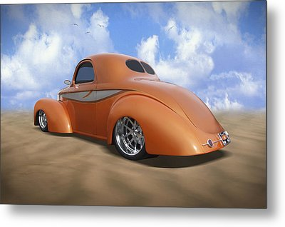41 Willys Metal Print