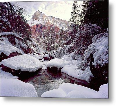 Zion National Park, Utah Metal Print