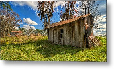 Metal Print featuring the photograph 4180-90-204 by Lewis Mann