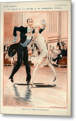 1920s France La Vie Parisienne Metal Print by The Advertising Archives