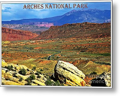 Arches National Park Metal Print by Sophie Vigneault