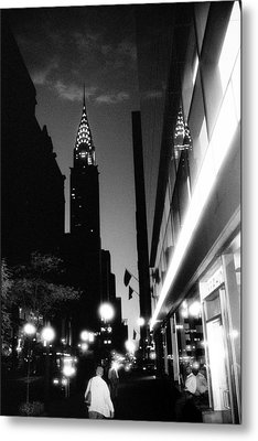 42nd-street-dawn Metal Print by Dave Beckerman