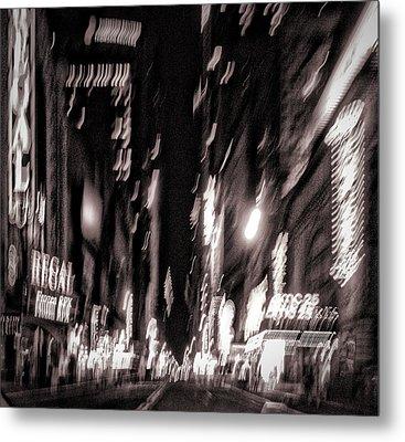 42nd Street Metal Print