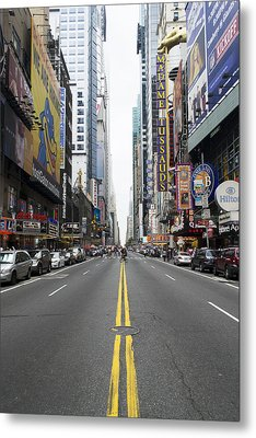 42nd Street - New York Metal Print