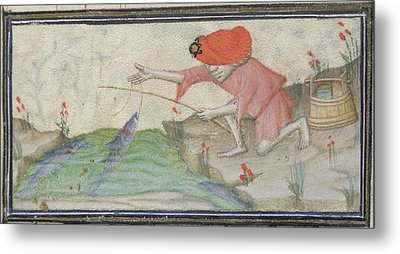 Book Of Hours Metal Print by British Library