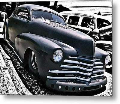 Metal Print featuring the photograph '47 Chevy Lowrider by Victor Montgomery