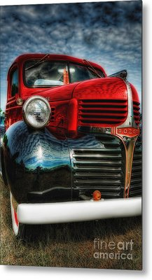 47 Dodge Pickup Metal Print