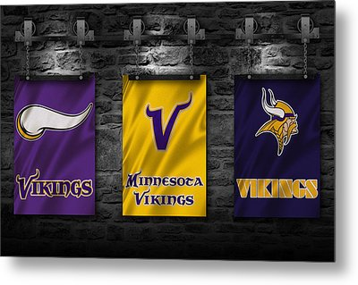 Minnesota Vikings Metal Print