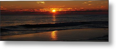 48 Degrees At The Beach Metal Print by Michele Kaiser