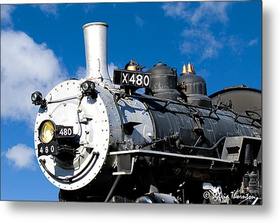 Metal Print featuring the photograph 480 Locomotive by Sylvia Thornton