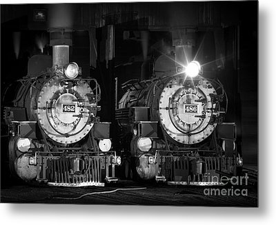 482 And 486 Metal Print by Inge Johnsson