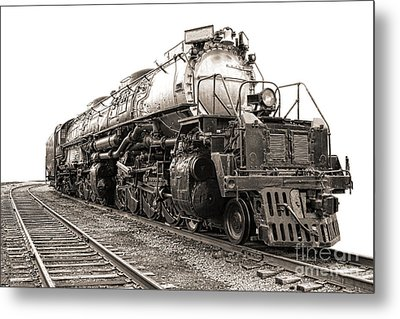 Metal Print featuring the photograph 4884 Big Boy by Olivier Le Queinec