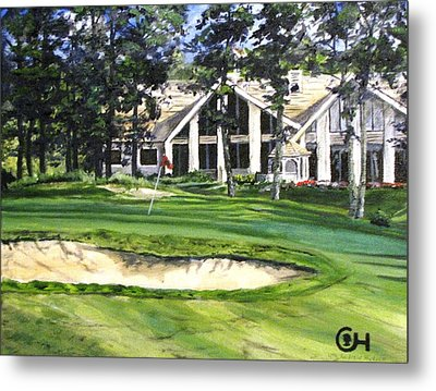 4th Andrew Hudson Memorial Golf Tournament Metal Print by Kevin F Heuman