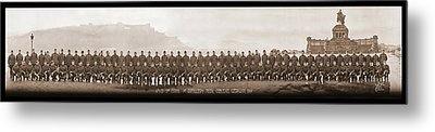 4th Co. 3rd Corps. 1st Artillery Park Metal Print