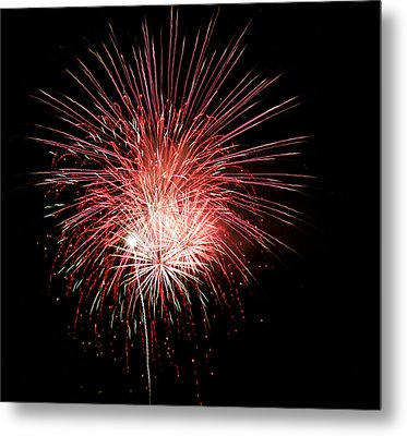 4th Of July 8 Metal Print by Marilyn Hunt