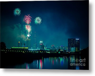 4th Of July At Indianapolis Metal Print by Jose Sanchez