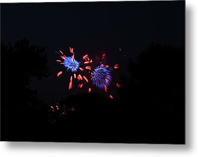 4th Of July Fireworks - 011323 Metal Print by DC Photographer