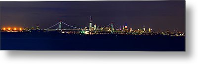 4th Of July New York City Metal Print by Raymond Salani III