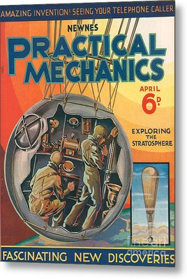 1930s Uk Practical Mechanics Magazine Metal Print by The Advertising Archives