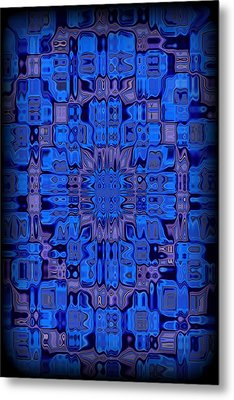 Abstract 119 Metal Print by J D Owen