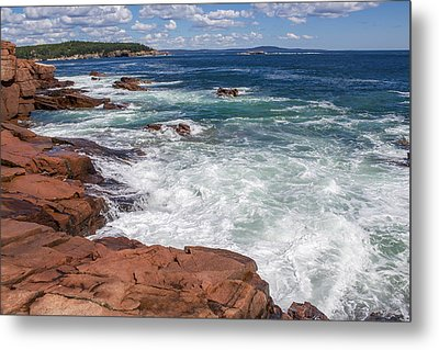 Acadia National Park Metal Print by Trace Kittrell