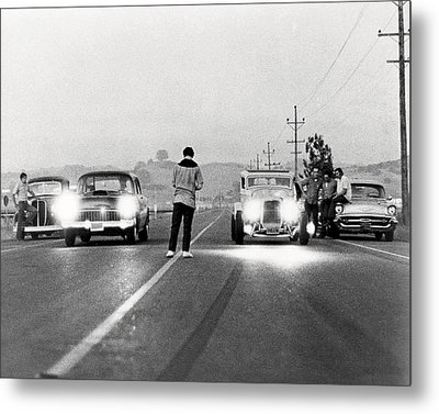 American Graffiti  Metal Print by Silver Screen