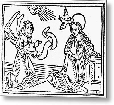 Annunciation Metal Print by Granger