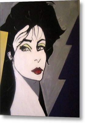 Metal Print featuring the painting Art Deco by Nora Shepley