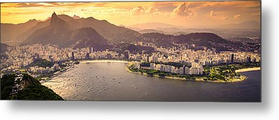 Aterro Do Flamengo Metal Print by Celso Diniz