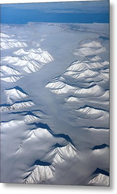 Baffin Island In The Arctic Northern Canada Metal Print