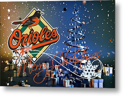 Baltimore Orioles Metal Print by Joe Hamilton
