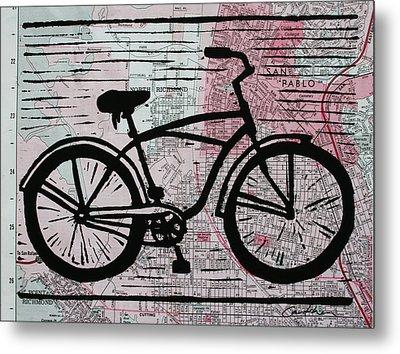 Bike 9 Metal Print by William Cauthern