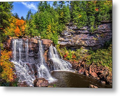 Blackwater Falls Metal Print by Mary Almond