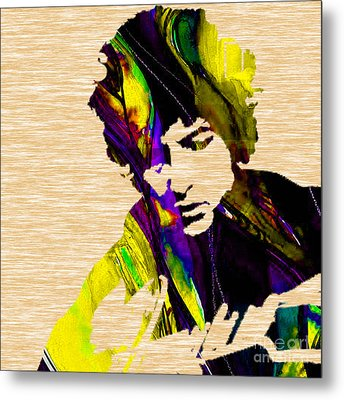 Bob Dylan Collection Metal Print