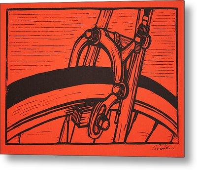Brake Metal Print by William Cauthern