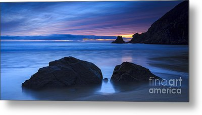 Metal Print featuring the photograph Campelo Beach Galicia Spain by Pablo Avanzini