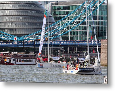 Clipper Round The World Yacht Race 2013 Metal Print by Ash Sharesomephotos