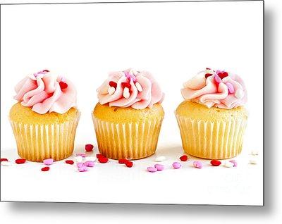 Cupcakes Metal Print by Elena Elisseeva