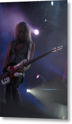 Def Leppard Metal Print by Jenny Potter
