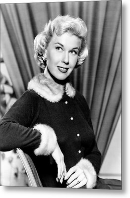 Doris Day, Ca. Early 1950s Metal Print