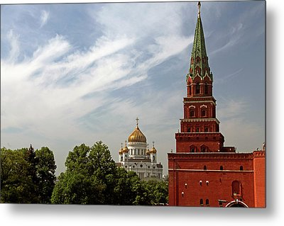 Europe, Russia, Moscow Metal Print by Kymri Wilt